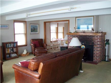 Plymouth ~ White Horse Beach MA vacation rental - Living Room