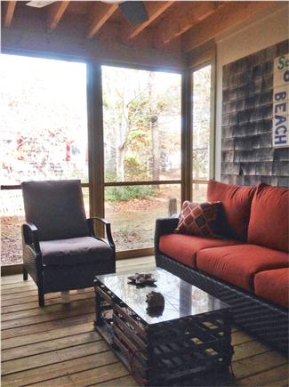Eastham Cape Cod vacation rental - Newly constructed screen porch