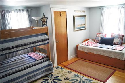 Chatham Cape Cod vacation rental - Upstairs, ''Lighthouse'' room is spacious - sleeping for 5!