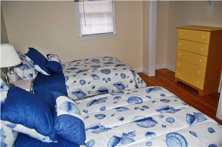 South Yarmouth Cape Cod vacation rental - Bedroom window faces side and back of the house
