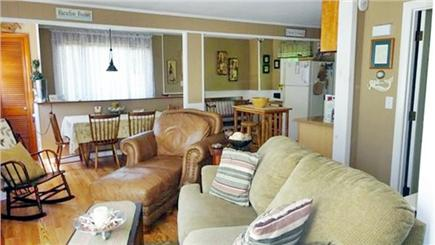 Onset MA vacation rental - Upstairs living room, kitchen, full bath and bedroom