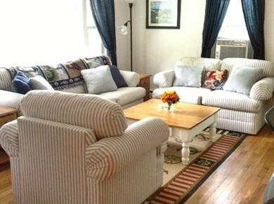 Orleans Cape Cod vacation rental - Living room with view to kitchen and dining room