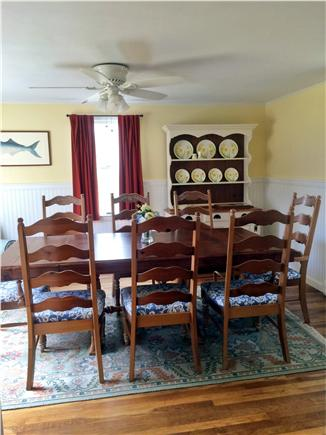 Orleans Cape Cod vacation rental - Dining room (seats 8)