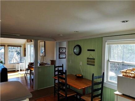 Chatham Cape Cod vacation rental - Eating area in kitchen