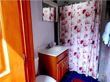 N. Truro Cape Cod vacation rental - Private full bathroom with vanity and large shower