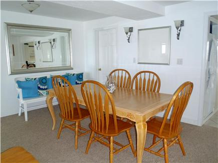 Marshfield, Brant Rock MA vacation rental - Dining Room seats 6 (seating for 12 on deck)