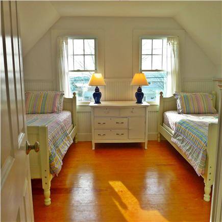 West Yarmouth Cape Cod vacation rental - Twin-bedded room on the upper floor.