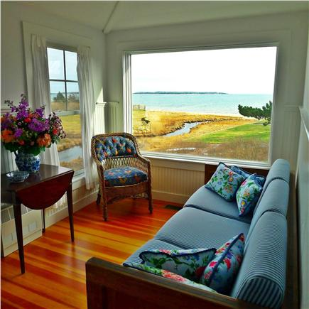 West Yarmouth Cape Cod vacation rental - The view from the sitting room is gorgeous.