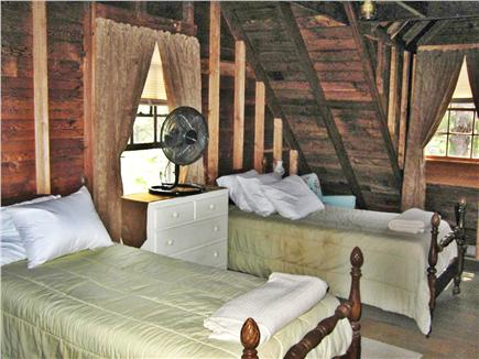 Wellfleet Cape Cod vacation rental - Upstairs Bedroom with Two Twin Beds