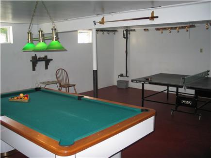 Brewster Cape Cod vacation rental - Basement - pool and ping pong table