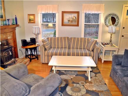 Eastham Cape Cod vacation rental - Bright, comfortable living room with flatscreen TV