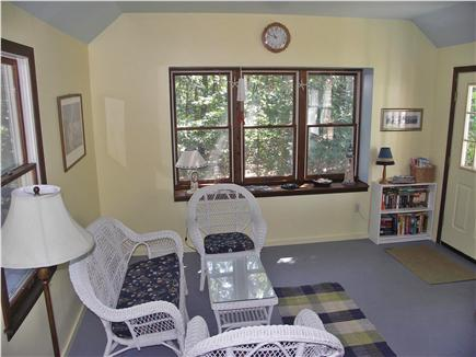 Eastham Cape Cod vacation rental - Spacious family/dining room leads to deck