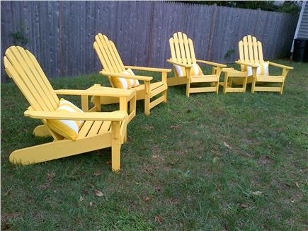 Dennisport Cape Cod vacation rental - Relaxing Back Yard