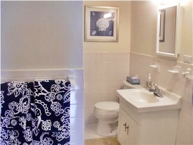 Dennisport Cape Cod vacation rental - Bathroom with tub and shower
