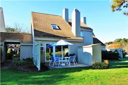 Brewster Cape Cod vacation rental - Golf course view of our outdoor patio.