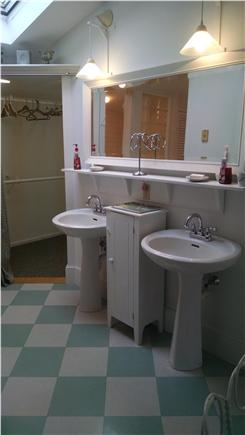 Orleans Cape Cod vacation rental - Master bath with double shower