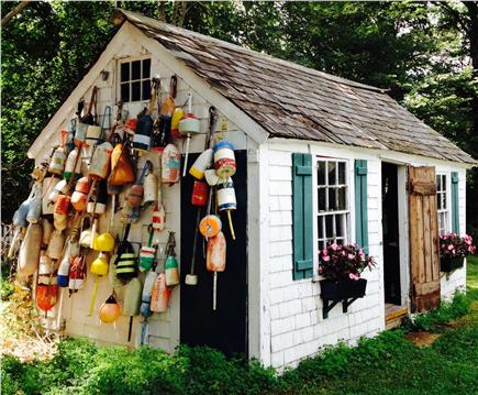 Orleans Cape Cod vacation rental - A collection of bouys
