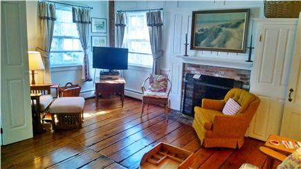 Orleans Cape Cod vacation rental - Den, facing fireplace, with TV