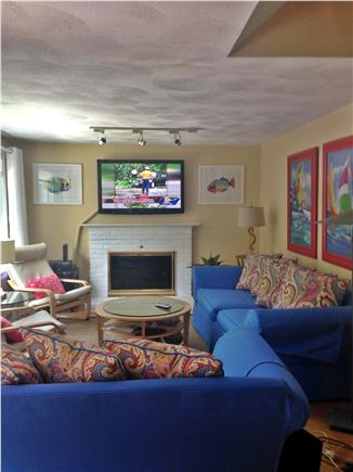 Sandwich Cape Cod vacation rental - Living room.