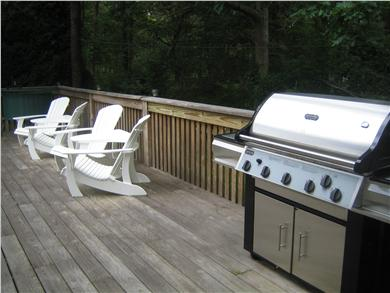 Sandwich Cape Cod vacation rental - Deck with Grill.