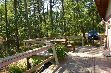 South Wellfleet Cape Cod vacation rental - Deck with amazing views