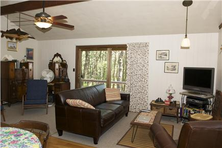 South Wellfleet Cape Cod vacation rental - Another living room view