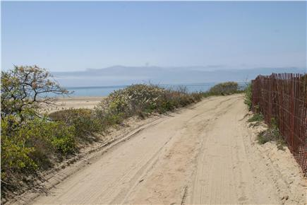 Wellfleet Cape Cod vacation rental - Private sandy road to beach