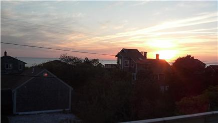 Eastham Cape Cod vacation rental - Sunset view from new roof top deck!