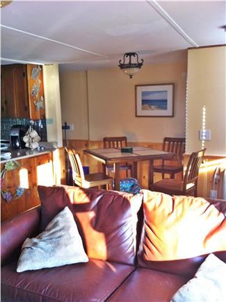 Eastham Cape Cod vacation rental - Open living, dining and kitchen area