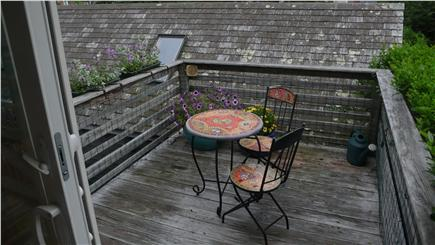 Woods Hole Woods Hole vacation rental - Two decks! Morning coffee on this cute deck?