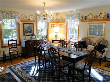 Chatham Cape Cod vacation rental - Lovely dining room with A/C unit