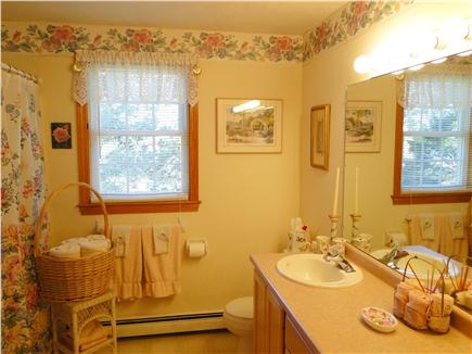 Chatham Cape Cod vacation rental - Full bathroom with tub & two basins
