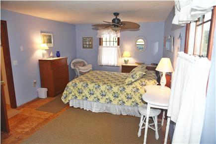 Eastham Cape Cod vacation rental - 2nd fl bdrm #1 w/Queen bed.  Sitting area & skylight not shown.