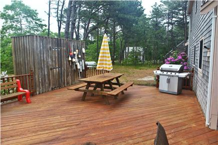 Eastham Cape Cod vacation rental - Wonderful outdoor shower - a must try!