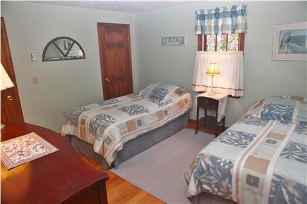 Eastham Cape Cod vacation rental - First floor, front bedroom with 2 Extra Long Twin beds