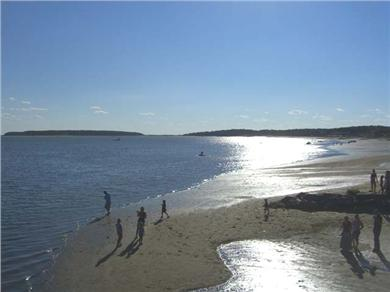 Wellfleet Cape Cod vacation rental - Mayo Beach is just 100 yards away