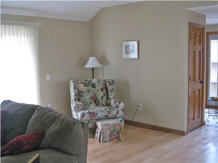 South Chatham Cape Cod vacation rental - Living room and sitting area