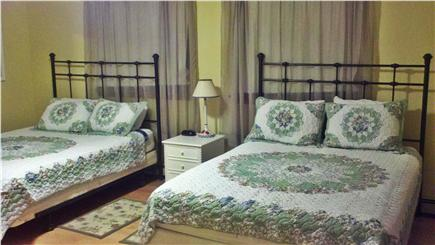 South Chatham Cape Cod vacation rental - First-Floor Bedroom w/2 queen beds