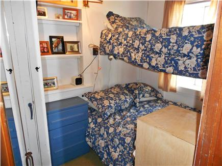 Dennisport Cape Cod vacation rental - Second bedroom   (twin bed on top & full bed on bottom)