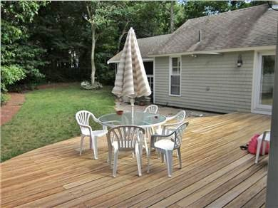 New Seabury New Seabury vacation rental - Spacious deck,  private yard and outdoor shower