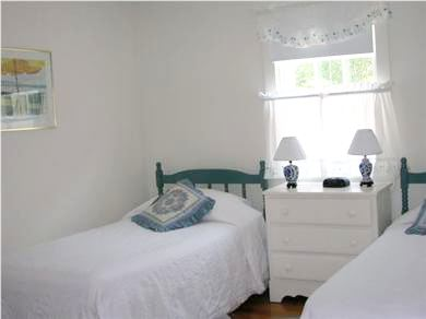 West Harwich Cape Cod vacation rental - #2 Twin Bedroom shares jack/jill bathroom with #1 bedroom