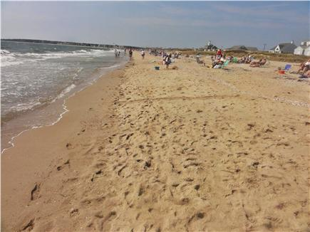 West Hyannisport Cape Cod vacation rental - View of Covell Beach with Craigville Beach way in background