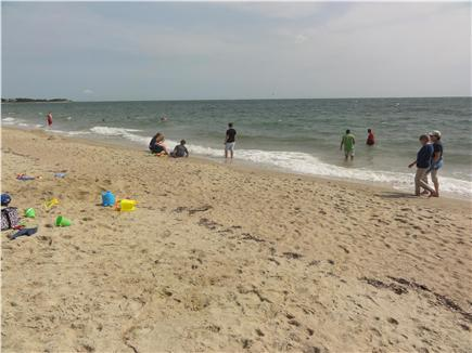 West Hyannisport Cape Cod vacation rental - Covell Beach, short walk from house, beach buggy available