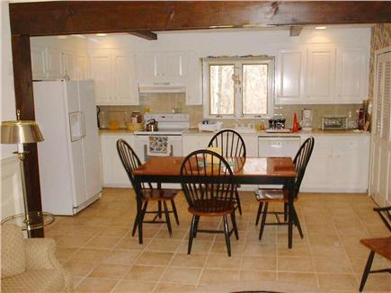West Hyannisport Cape Cod vacation rental - Kitchen-dining room combo, lots of space here