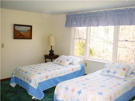 West Hyannisport Cape Cod vacation rental - Second upstairs bedroom, one twin bed and one queen bed