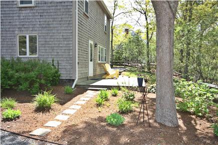 South Orleans Cape Cod vacation rental - Back deck