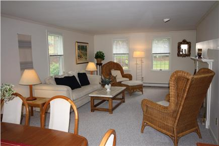 South Orleans Cape Cod vacation rental - Living room dining room