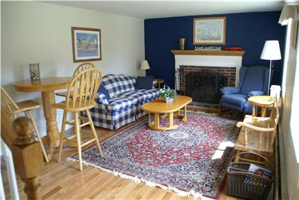 Hyannis Cape Cod vacation rental - Living Room with Pub table