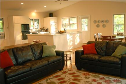 Orleans Cape Cod vacation rental - View of living room facing kitchen