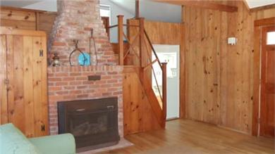 Wellfleet Cape Cod vacation rental - Living room in attached cottage